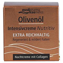 OLIVENÖL INTENSIVCREME Nutritiv Nachtcreme 50 Milliliter - Vorderseite