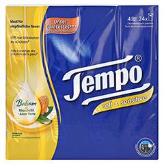 TEMPO Taschentücher soft & sensitive 24x9 Stück - Vorderseite