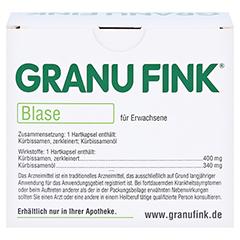 GRANU FINK BLASE 160 Stück - Rückseite