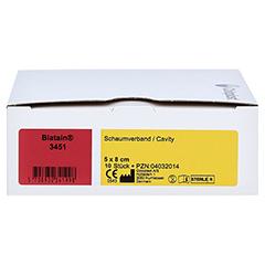 BIATAIN Schaumverband Cavity 5x8 cm 10 Stück - Vorderseite