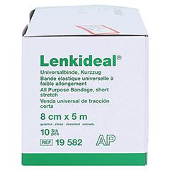 LENKIDEAL Idealb.8 cmx5 m weiß o.Verbandkl.lose 10 Stück - Rechte Seite