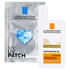 ROCHE-POSAY Anthelios XL LSF 50+ Fluid / R + gratis My UV Patch 50 Milliliter