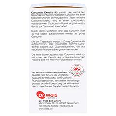 CURCUMIN Extrakt 45 Dr. Wolz Kapseln 90 Stück - Linke Seite