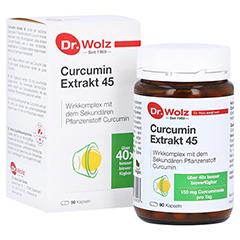 Dr. Wolz Curcumin Extrakt 45 Kapseln 90 Stück