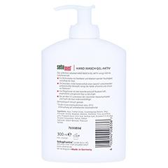 SEBAMED Hand Wasch-Gel aktiv 300 Milliliter - Rückseite
