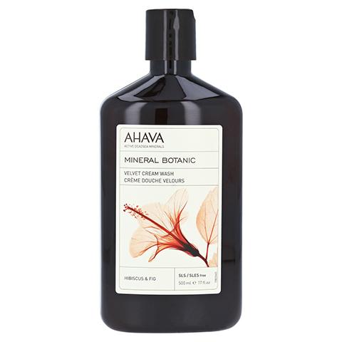 Ahava Mineral Botanic Cream Wash Hibiskus/Feige 500 Milliliter