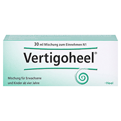 VERTIGOHEEL Tropfen 30 Milliliter N1 - Vorderseite