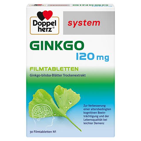 Doppelherz Ginkgo 120mg system 30 Stück N1