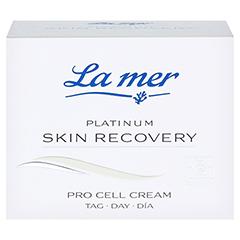 LA MER PLATINUM Skin Recovery Pro Cell Cream Tag + gratis LA MER SOS-Repair Creme 15 ml 50 Milliliter - Vorderseite