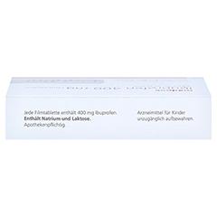 Ibuprofen medpex 400 mg Filmtabletten 20 Stück - Oberseite