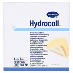 HYDROCOLL Wundverband 5x5 cm 10 Stück - Vorderseite