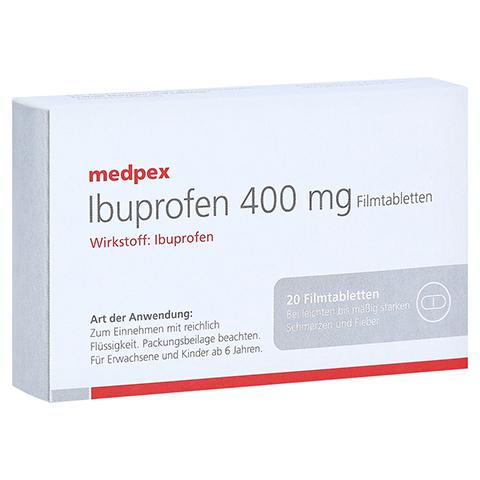 Ibuprofen medpex 400 mg Filmtabletten 20 Stück