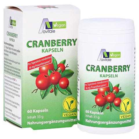 Avitale Cranberry Vegan 60 Stück