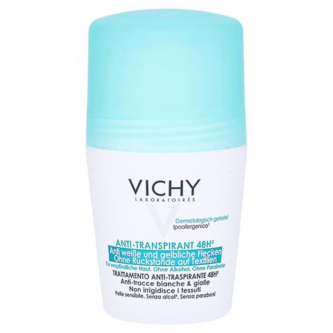 Vichy Deo Anti-Transpirant Roll-on 48h Anti-Flecken 50 Milliliter