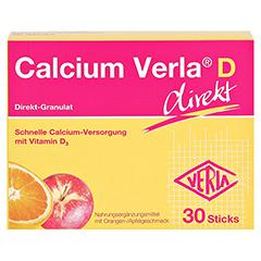 CALCIUM VERLA D direkt Granulat 30 Stück - Vorderseite