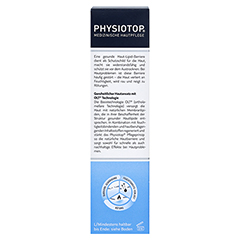 PHYSIOTOP Basis Creme + gratis Physiotop Intensiv-Creme akut 30 ml 75 Milliliter - Rückseite
