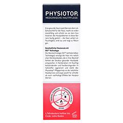 PHYSIOTOP Akut Intensiv-Creme 50 Milliliter - Rückseite