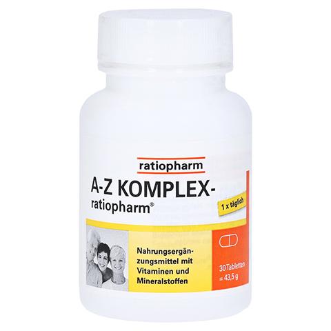 A-Z Komplex ratiopharm 30 Stück