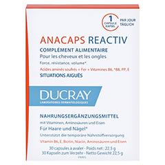 Ducray Anacaps Reactiv Kapseln + gratis DENSIAGE Volumen-Conditioner 200ml 30 Stück - Vorderseite