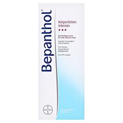 Bepanthol Intensiv Körperlotion Spenderflasche 400 Milliliter - Vorderseite