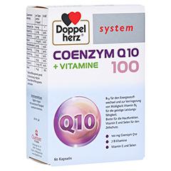 DOPPELHERZ Coenzym Q10 100+Vitamine system Kapseln 60 Stück