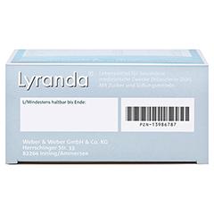 Lyranda Kautabletten 28 Stück - Unterseite