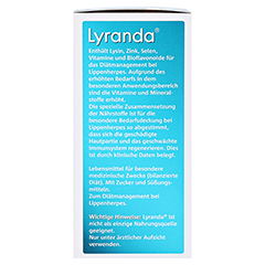 Lyranda Kautabletten 28 Stück - Linke Seite