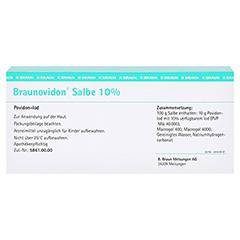 BRAUNOVIDON Salbe 100 Gramm N2 - Rückseite