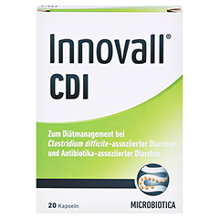 INNOVALL Microbiotic CDI Kapseln 20 Stück - Vorderseite