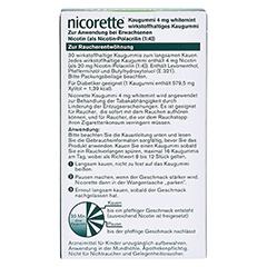 Nicorette 4mg whitemint 30 Stück - Rückseite