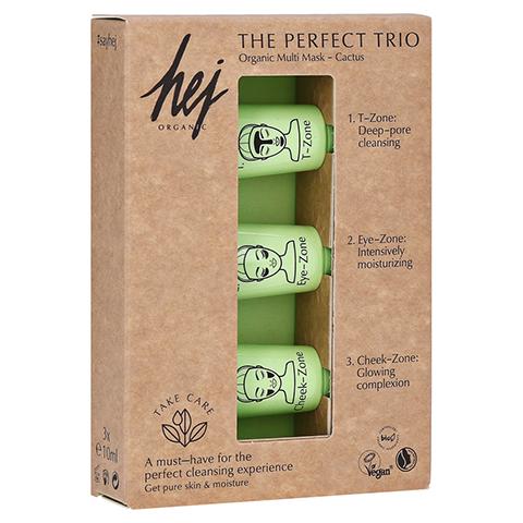 THE PERFECT Trio Cactus Multi Gesichtsmaske 3x10 Milliliter