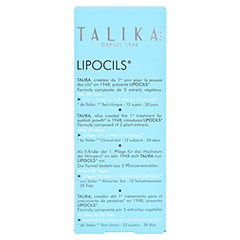 Talika Lipocils 10 Milliliter - Rückseite