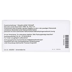 ARTICULATIO coxae GL Serienpackung 3 Ampullen 10x1 Milliliter N1 - Rückseite