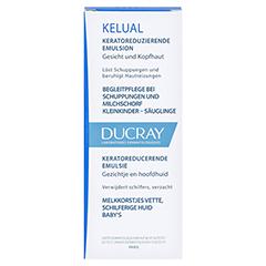 DUCRAY KELUAL Emulsion 50 Milliliter - Vorderseite