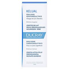 DUCRAY KELUAL Emulsion 50 Milliliter - Rückseite