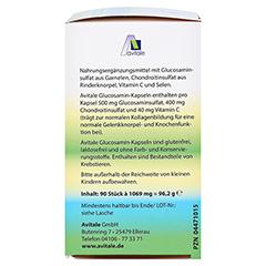 Avitale Glucosamin 500 mg + Chondroitin 400 mg 90 Stück - Rechte Seite