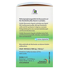 GLUCOSAMIN 500 mg+Chondroitin 400 mg Kapseln + gratis Teufelskrallen Gel 180 Stück - Rechte Seite
