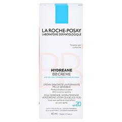 La Roche-Posay Hydreane BB Creme hell 40 Milliliter - Rückseite