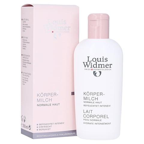WIDMER Körpermilch leicht parfümiert 200 Milliliter