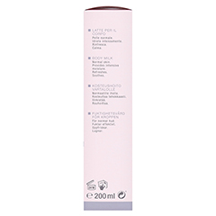 WIDMER Körpermilch leicht parfümiert 200 Milliliter - Linke Seite