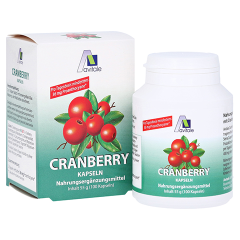 Avitale Cranberry 100 Stück