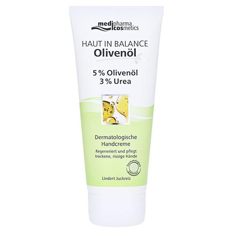 medipharma Haut in Balance Olivenöl Dermatologische Handcreme 100 Milliliter