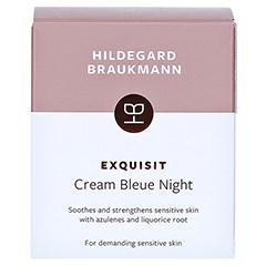 Hildegard Braukmann EXQUISIT Creme bleue sensitive 50 Milliliter - Rückseite