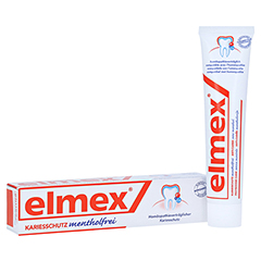 ELMEX mentholfrei Zahnpasta 75 Milliliter