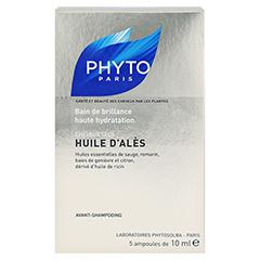PHYTO HUILE d'Ales Ölbad f.Haare 5x10 Milliliter - Rückseite