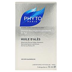 PHYTO HUILE d'Ales Ölbad f.Haare 5x10 Milliliter - Vorderseite