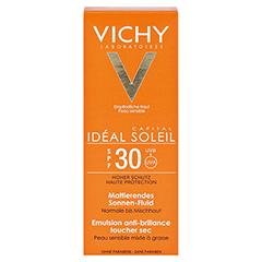 Vichy Ideal Soleil Mattierendes Sonnen-Fluid für das Gesicht LSF 30 + gratis Vichy Ideal Soleil After-Sun 50 Milliliter - Vorderseite