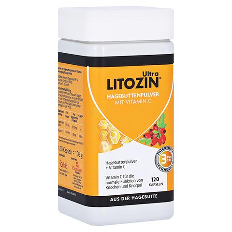 Litozin Ultra Hagebuttenpulver + Vitamin C 120 Stück
