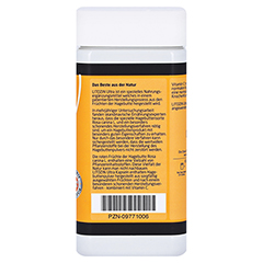 Litozin Ultra Hagebuttenpulver + Vitamin C 120 Stück - Rechte Seite
