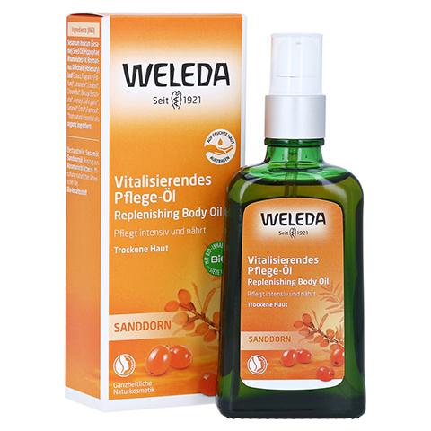 WELEDA Sanddorn vitalisierendes Pflege-Öl 100 Milliliter